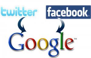 Twitter Facebook Google