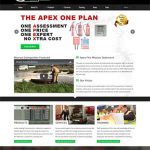Apex Fire website