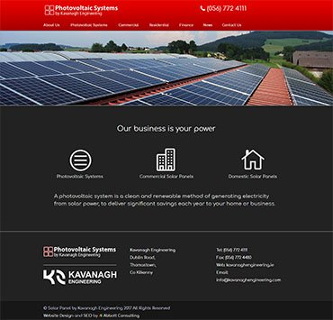 Photovoltaic Systems by Kavanagh Engineering