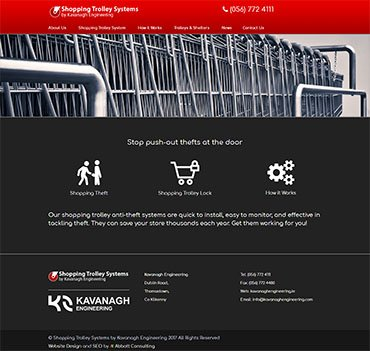 Shopping Trolleys by Kavanagh Engineering