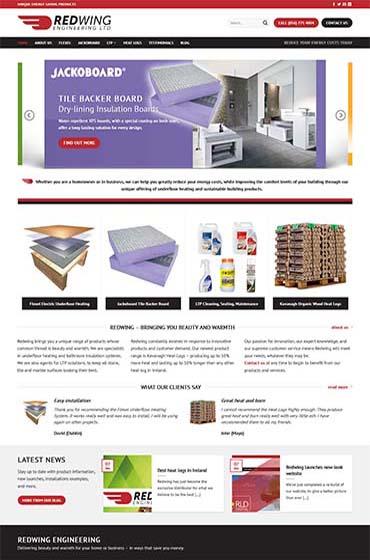 redwing engineering website design