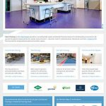select flooring website design