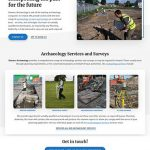 shanarc archaeology website design
