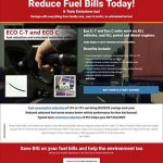 website design reduce fuel bills