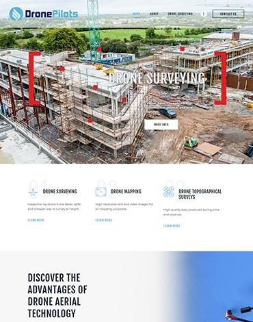 Drone Pilots Website Design