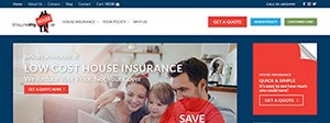 Insuremyhouse Website Design Portfolio