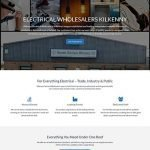 Kilkenny Electrical Wholesale Website Design