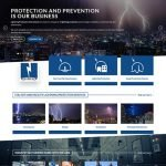 Lightning Protection International Web Design