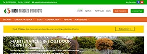 Irish Recycled Products Portfolio Re Design