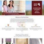 Charisma Blinds Website Design