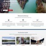 JS Group Website Design