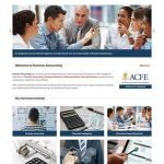 Forensic Accounting Website Design