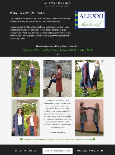 Alexxi Design Website Design