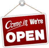 Come in we are open for indexing!