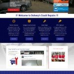 Doheny's Crash Repairs Website