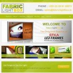 Fabric Light Box Website